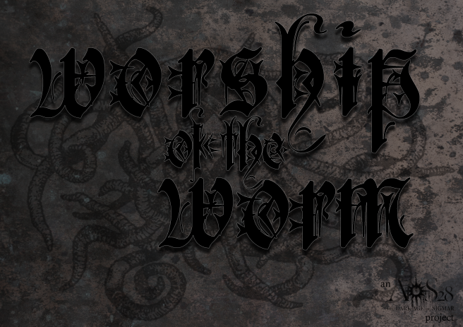 worship of the worm titlepage